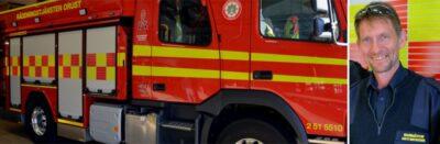 Skadade foten på vandringsled - Räddningstjänsten ryckte ut
