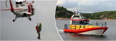 Mindre motorbåt höll på att sjunka utanför Klädesholmen - En person förd till Sahlgrenska