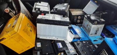 24 Batterier stulna från golffordon