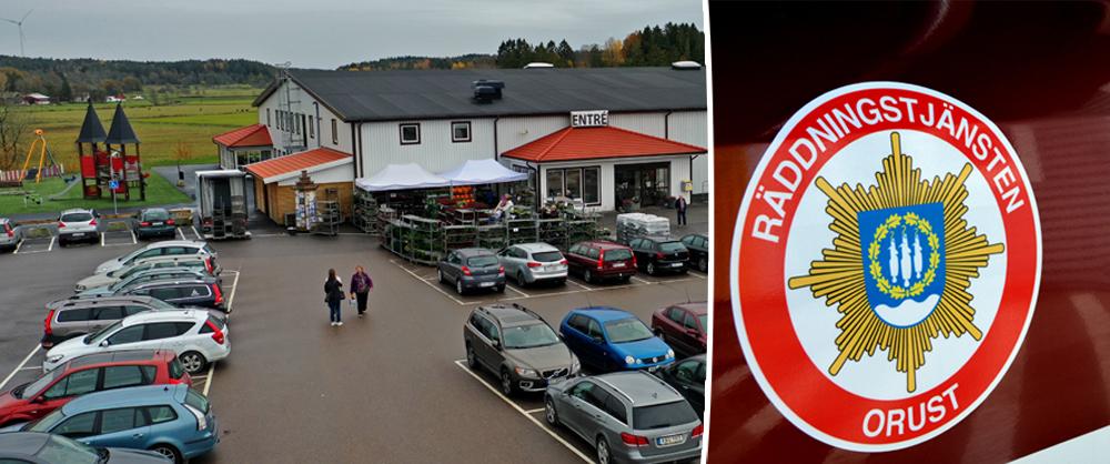 ORUST – Göksäter: Delar av parkering avspärrad efter oljeläckage – NYHETERsto.se – fb