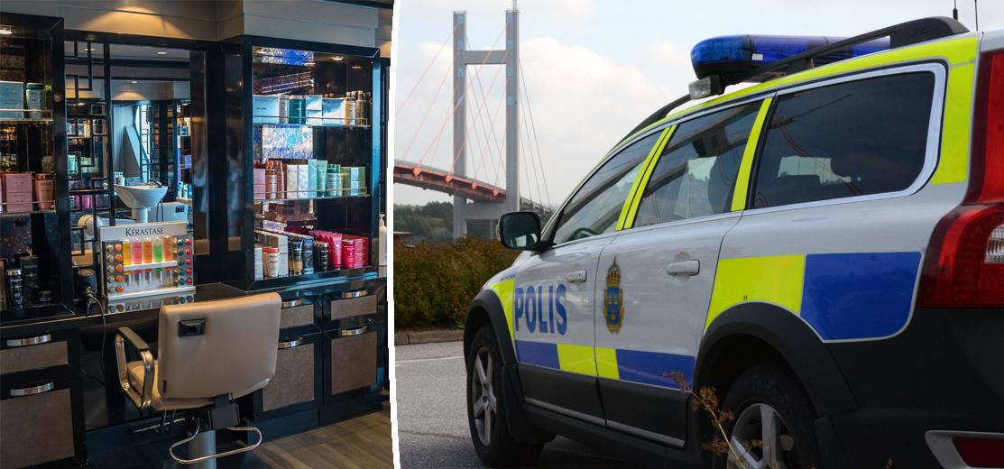 POLISEN VARNAR: Kan rekognosera för inbrott hos frisörsalonger