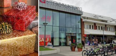 Handla lokalt och säkert i jul - Stenungstorgs centrum erbjuder hemleverans av julklappar från sina butiker i jul