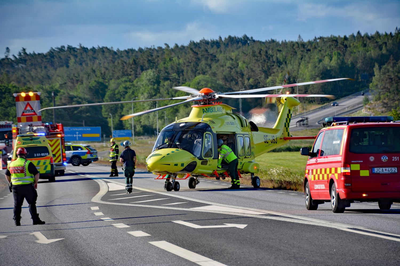 Olycka i Varekilsnäs - Misstänkt sjukdomsfall