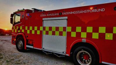 Larm om brand var kontrollerad eldning