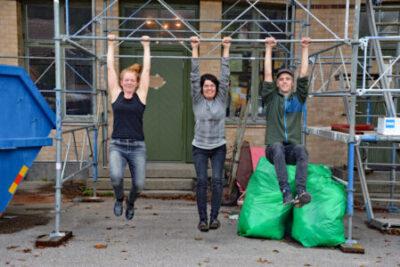 Äntligen! Nu invigs stationshuset i Svenshögen sin konst- och kulturverksamhet