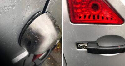 Flera inbrott i firmabilar
